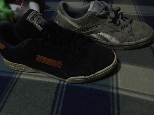 zapatos reebok usados talla pequeña