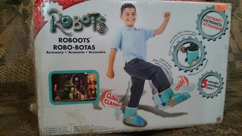 zapatos robots