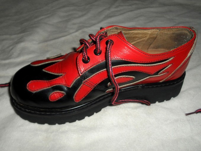 Zapatos Rockabilly Llamas - Fiera (suela Febo) -   1.200 338a5fb916f