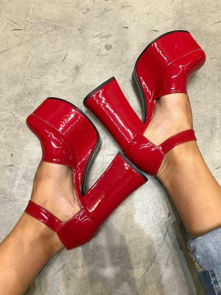 58ed5ac896 Zapatos Rojos Charol - $ 999,00 en Mercado Libre