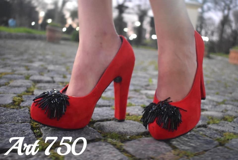 6a83f8d941 Zapatos Rojos De Mujer Taco Y Plataforma - $ 1.300,00 en Mercado Libre