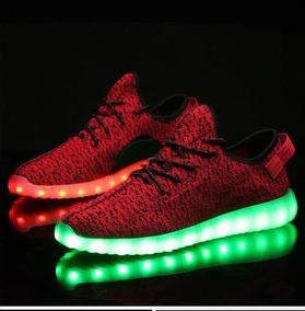 más fotos b1138 3b4ff Zapatos Rojos Led Luminosos Luces Para Hombre Disponible
