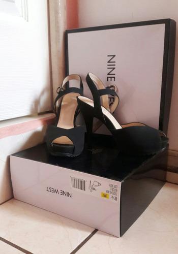 zapatos rojos nine west