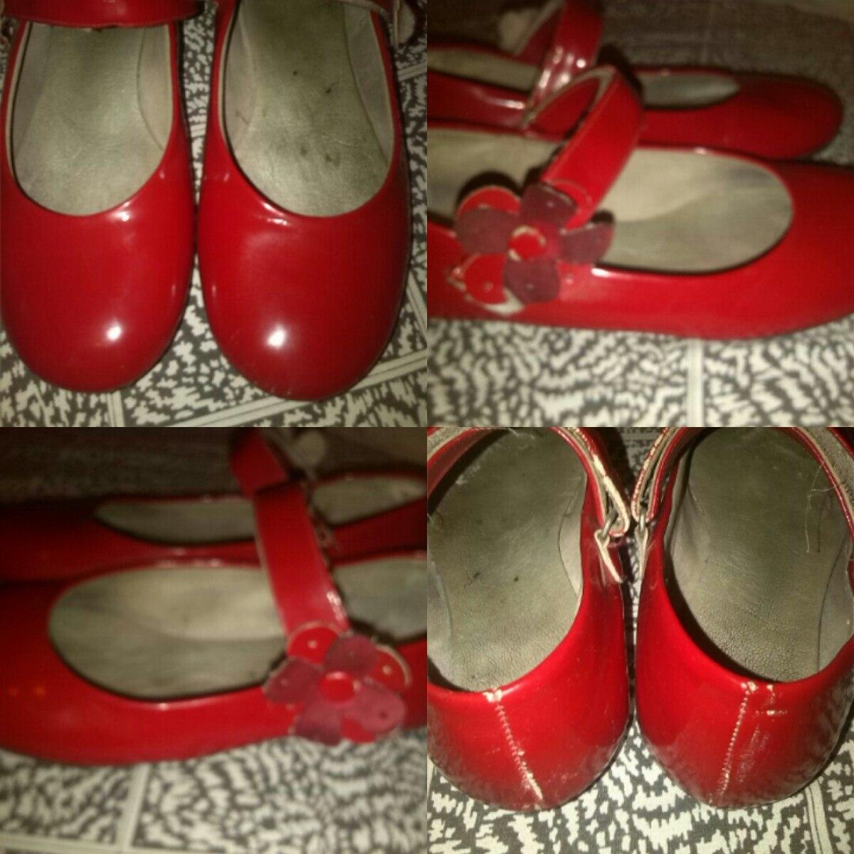 zapatos rojos para ninas d4b5e273534f