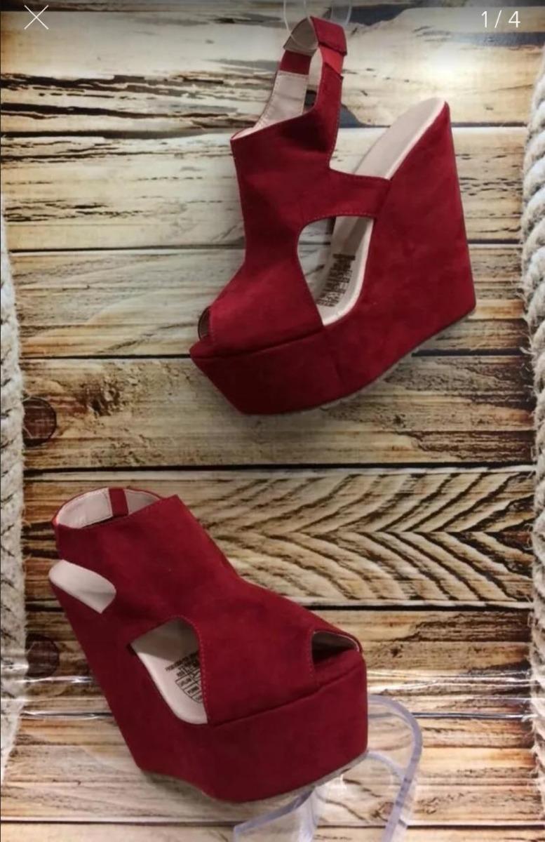 0c65e602 zapatos rojos plataforma moda para mujeres con estilo dama. Cargando zoom.