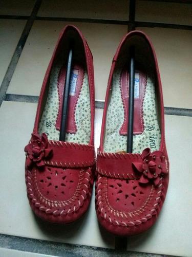 zapatos rojos primavera-verano cklass confort