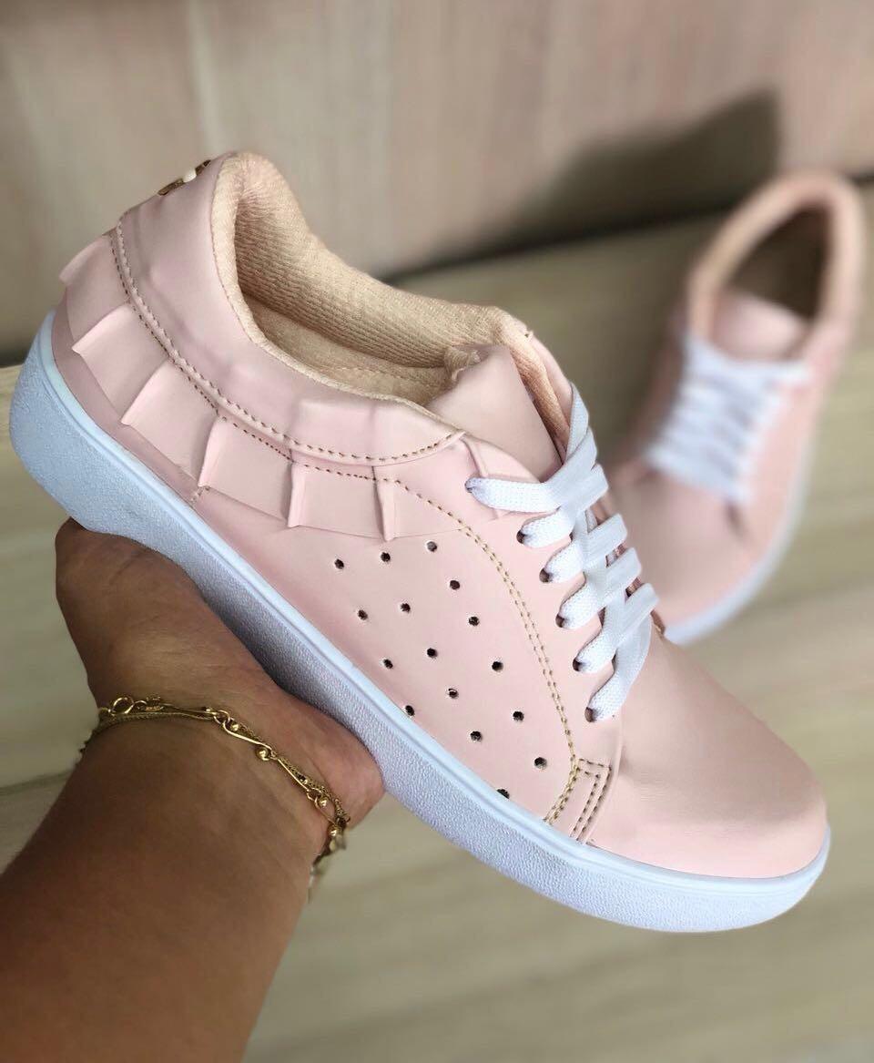 646609f739f zapatos rosados deportivos dama los tenis mas lindos de moda. Cargando zoom.