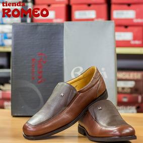 Corte Rossi Caballero Marrón Zapatos Color Para Bajo Cuero lKJT1F3c