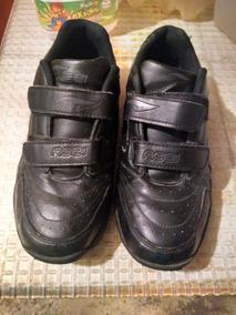 3d8a2ac1 Zapatos Rs21 Escolares Negros De Cierre Magico Talla 37