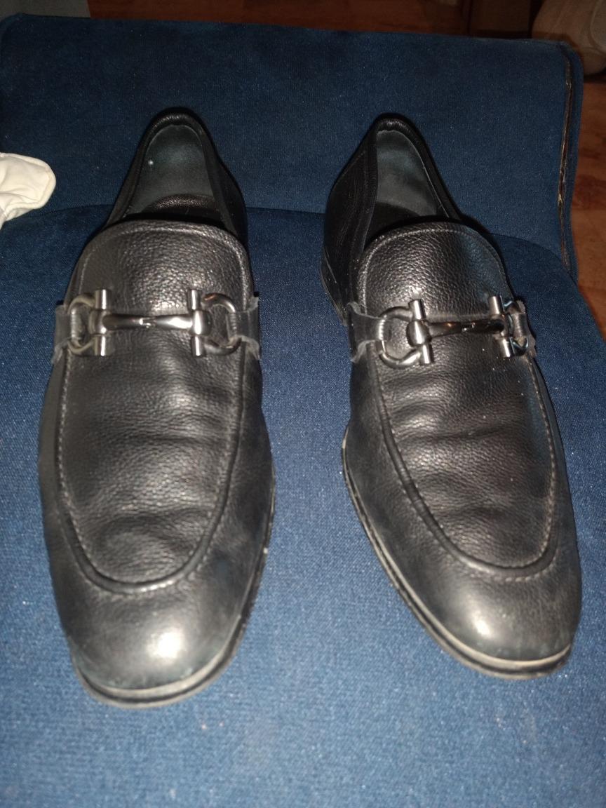 e112f324 zapatos salvatore ferragamo 100% originales, piel italiana. Cargando zoom.