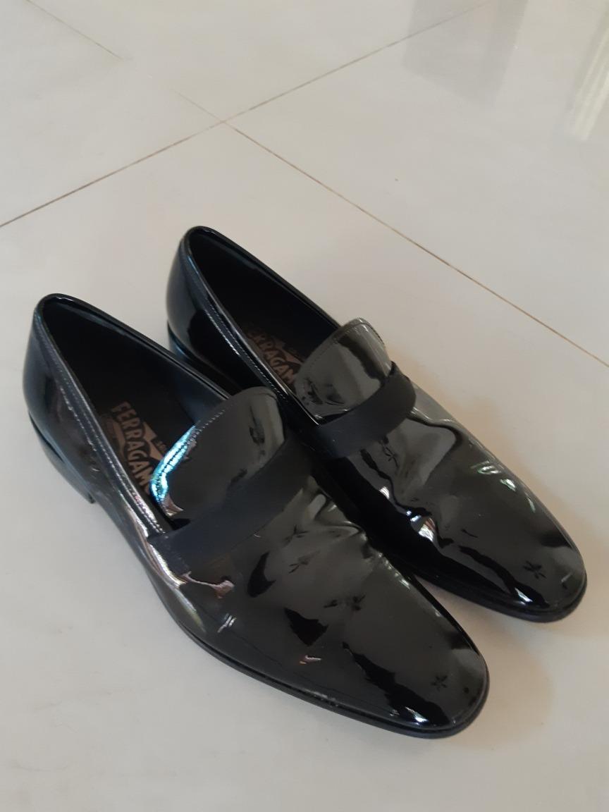 zoom salvatore ferragamo zapatos Cargando charol ASqwR8z