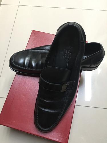 zapatos salvatore ferragamo negros 9 mex