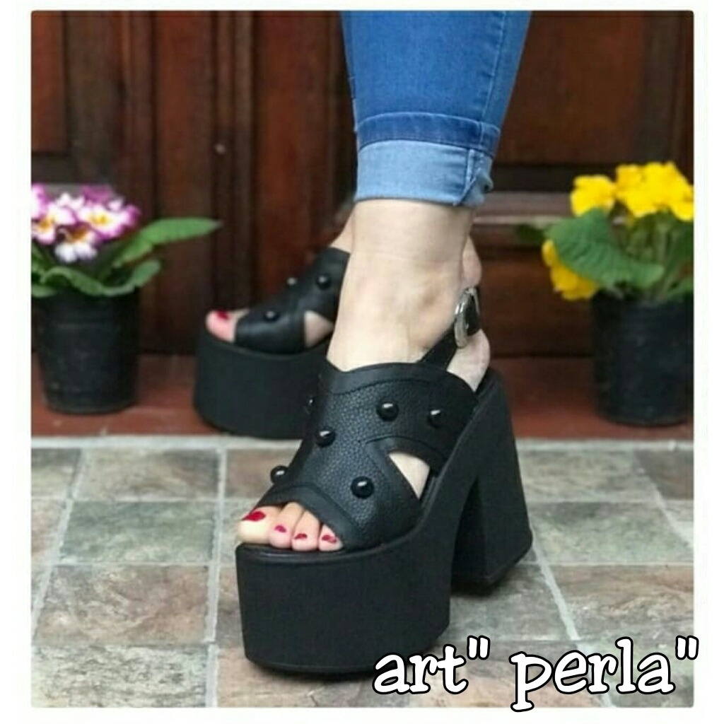 77130977f32 zapatos sandalia mujer plataforma taco - moda verano 2019. Cargando zoom.