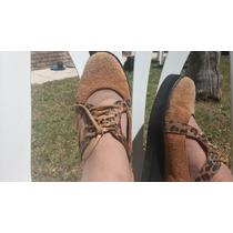 Zapatos De Taco Corrido Tipo Panchas