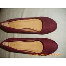 Divinos Zapatos Color Bordo Daniel Cassin