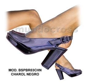 b39b1cae Sandalias Negras Fiesta Bajas - Zapatos en Mercado Libre Argentina