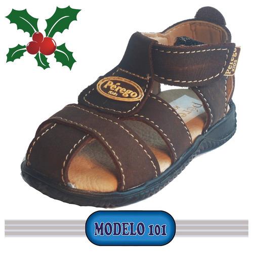 zapatos sandalias cholas niños y niñas 100 % cuero y calidad