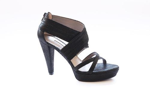 zapatos sandalias de cuero charol negros milano bags
