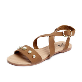 155d336cad0 Sandalias Verano Via Moda Cafe Otras Marcas - Zapatos Naranja oscuro ...
