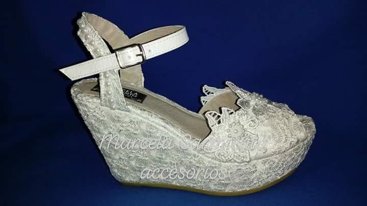 zapatos sandalias novia 15 años fiesta egresadas - $ 1.800,00 en