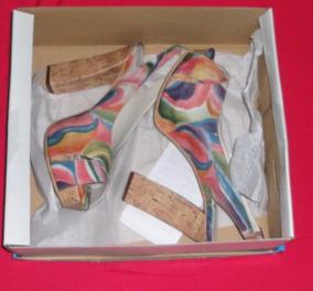 Sandalias Zapatos 39 Palo Nº Plataformas Madrina Taco Novia mvN8nw0O
