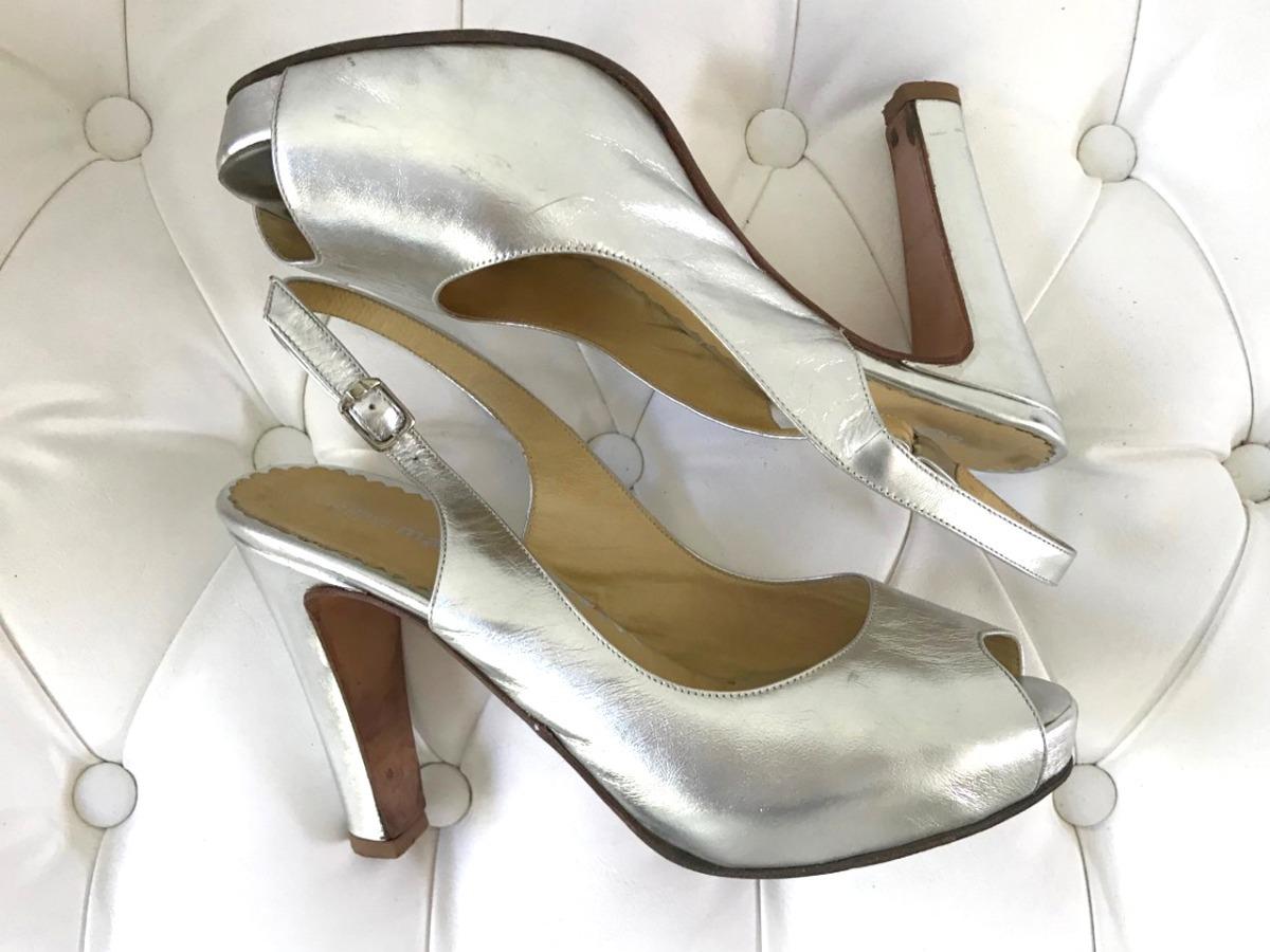 e73d08b791e zapatos sandalias plateadas 37 sofi martire paruolo sarkany. Cargando zoom.