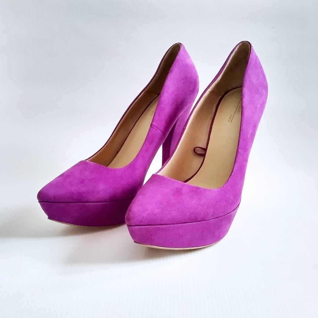 Zapatos 990 Bs8 Basic Tacones De Sandalias Plataformas Dama Zara TFJ1Klc