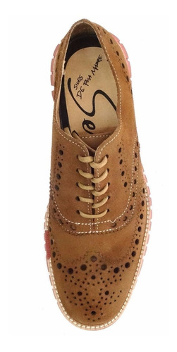 zapatos sergio banano gamuza