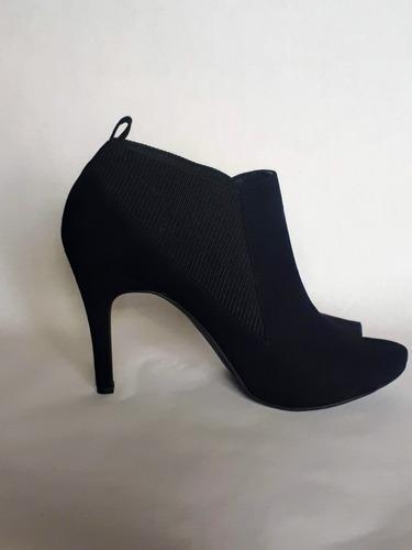 zapatos simply vera by vera wang (tacón, negros, us 9.5)