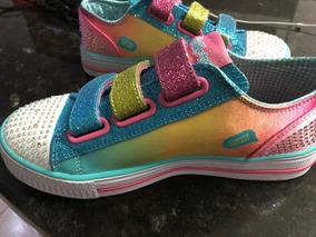 Numero 35 Zapatos Skechers En Libre Bailarina Mercado lK1JcF