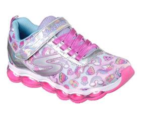 Niños Accesorios Rosa Chicle Zapatos Skechers En RopaY n0P8kwO