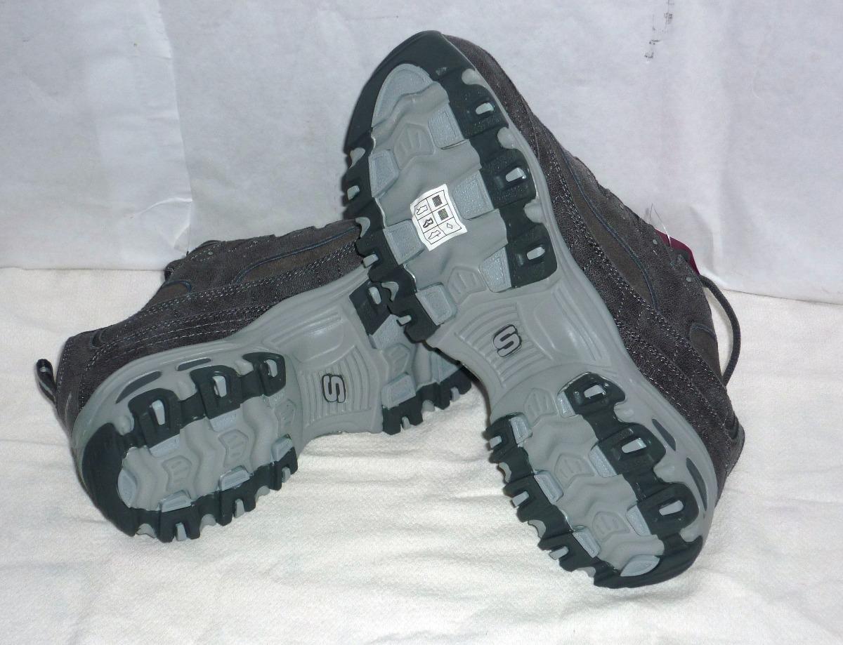 Zapatos Skechers Damas Color Gris, Talla 8 Nuevos