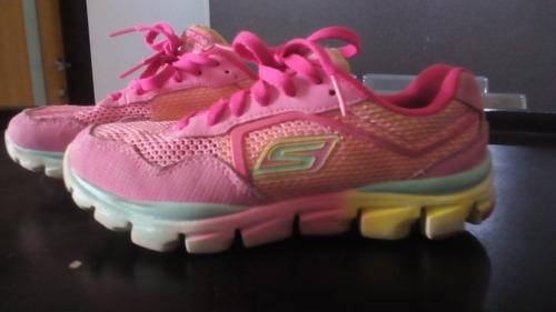 zapatos skechers de niña, talla 31!