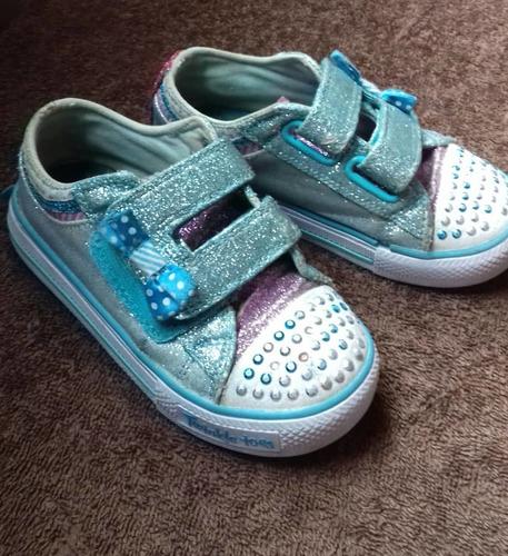 zapatos skechers de niña usados