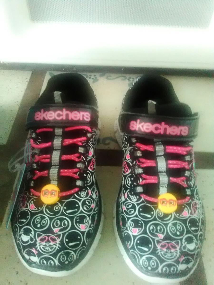 Un Talla10 Bs De Solo Uso Zapatos 5 Originales Niñas Skechers WEH2eYDI9