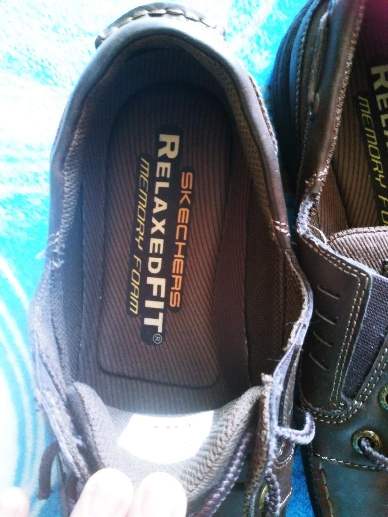 00 PielNumero Zapatos Cafe600 30Color Skechers En 3ALc5Rjq4