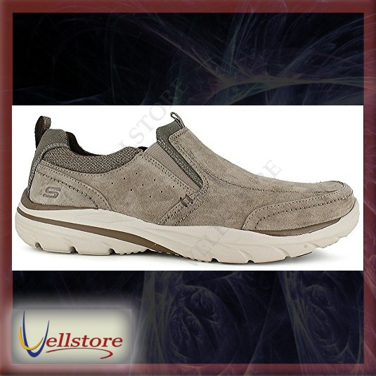 Hombre Skechers Zapatos Espino Relaxed Loafers Corven Fit d5dqAwr