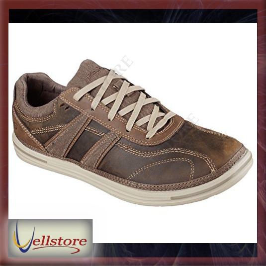 Relaxed Vellstore Skechers Fit Colven Landen Zapatos Hombre qZwvxn7