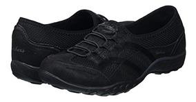 Mujer Casual Talla Zapatos Cuero Skechers 36 qUzMVGSp