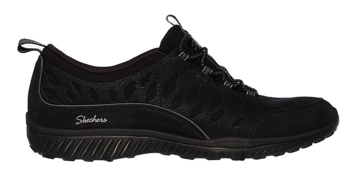 Casual Cuero Talla Zapatos Mujer 36 Skechers 5 IWEDH92Y