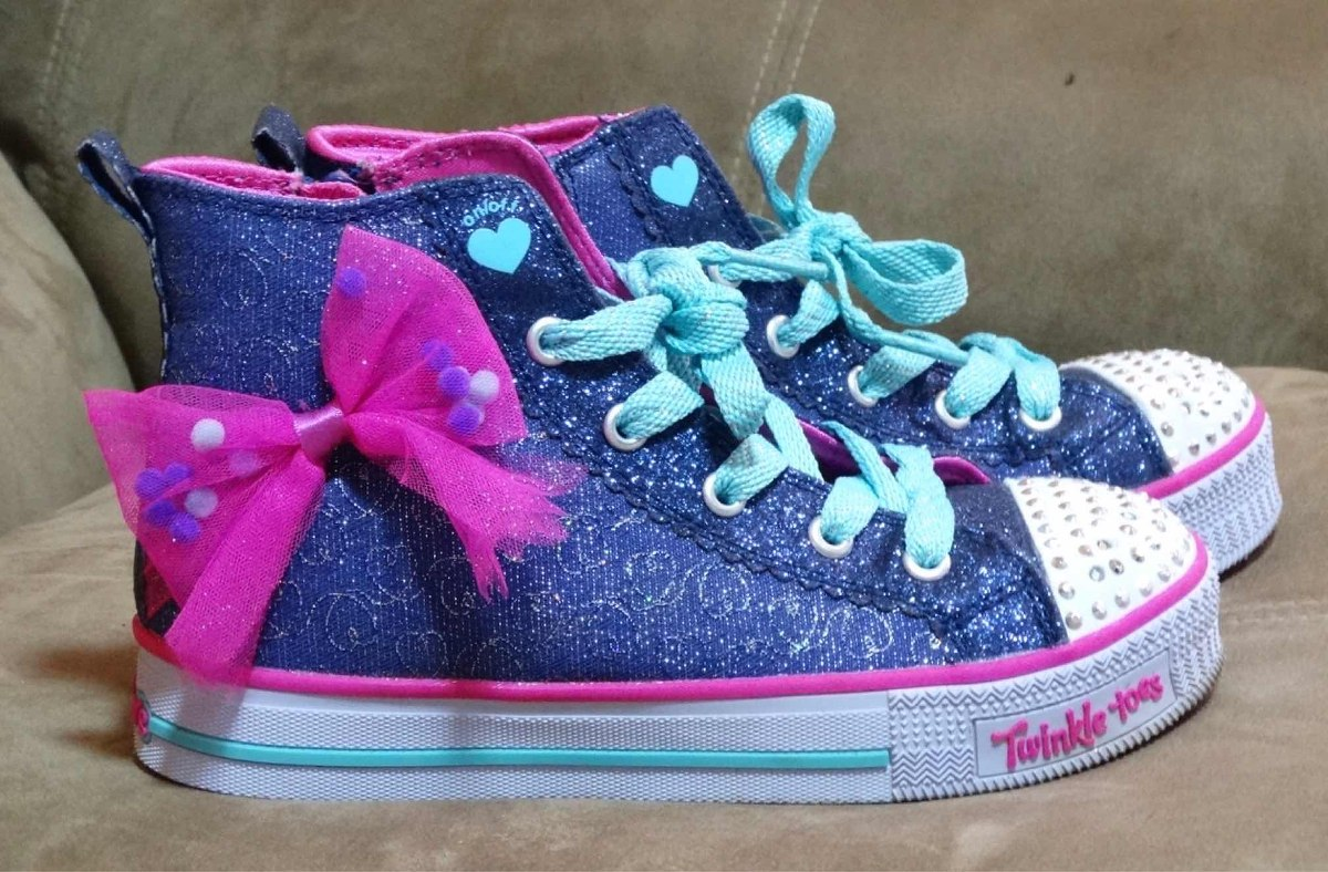 the latest 7223a c73bf Twinkle Toes Bs Zapatos Luces Niña Originales Skechers Led 33 pcwAaSWvAq