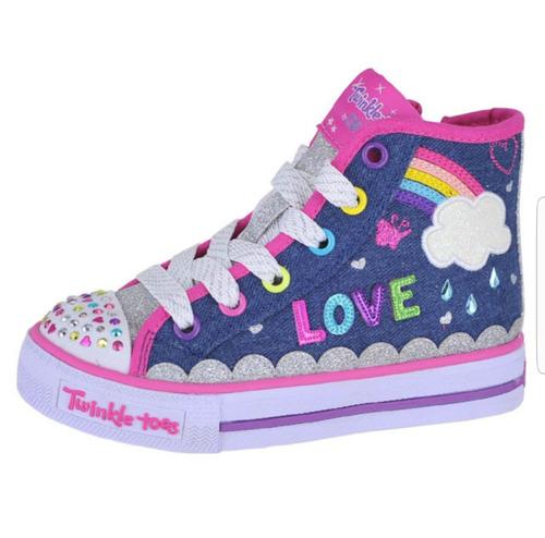 zapatos skechers para niñas