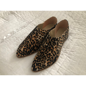 Zapatos Slippers Animal Print