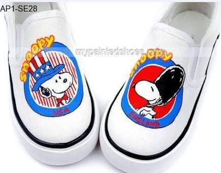 zapatos snoopy england usa diseño hecho a mano marca collec