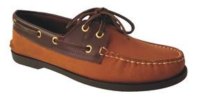 Cafe Para Zapatos Ocre Sperry Apache 100Cuero Hombre SMVUzpq