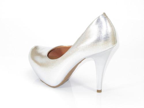 zapatos stiletto fiesta taco 11cm plataforma 2.5cm importado