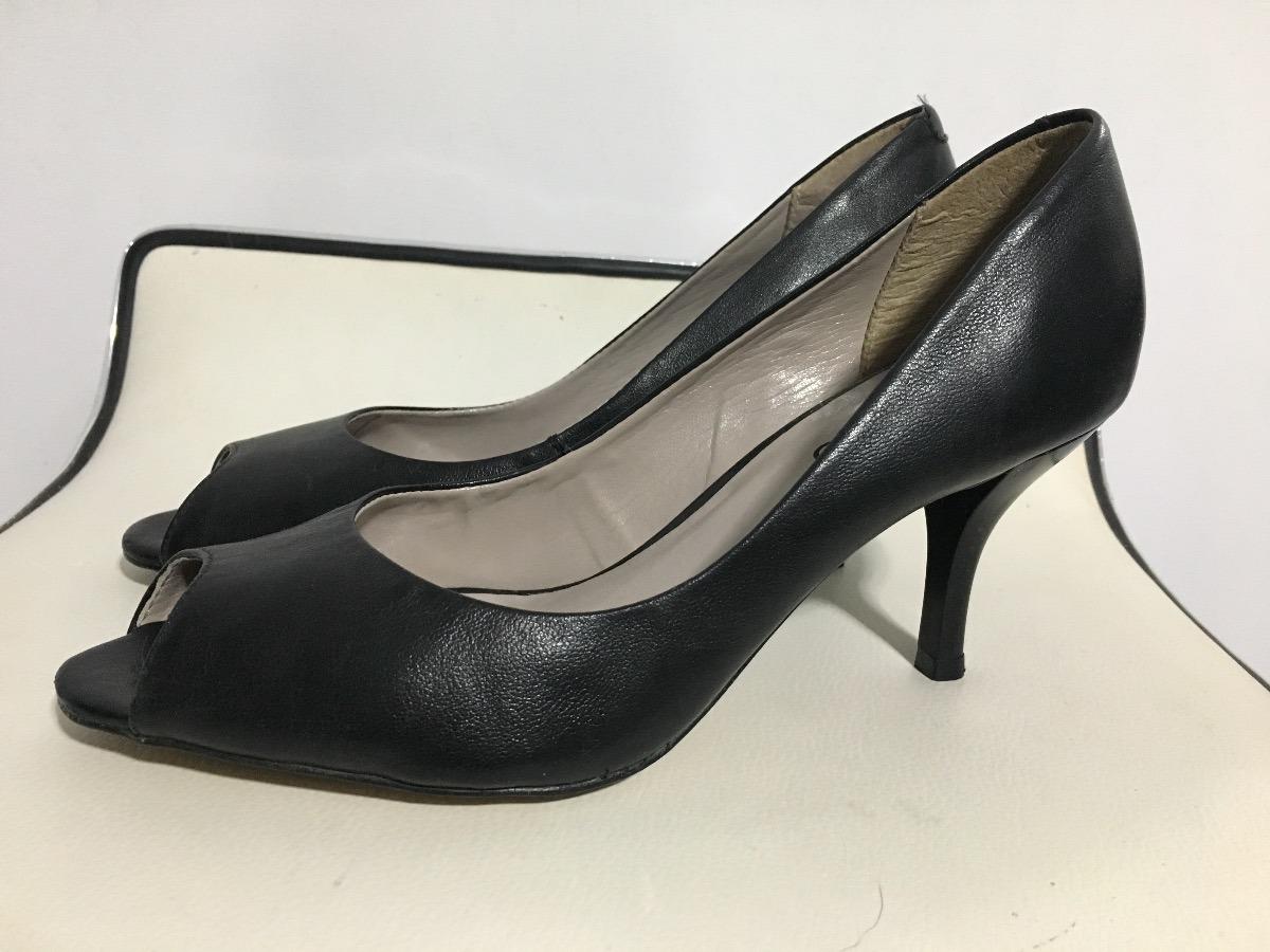 fe3c805b Zapatos Stilettos Boca De Pez Marca Via Uno Numero 36 - $ 700,00 en ...