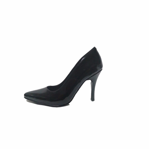 zapatos stilettos  cuero charol micheluzzi