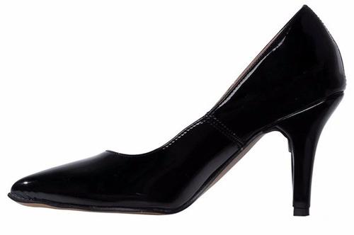 zapatos stilettos de charol luna chiara
