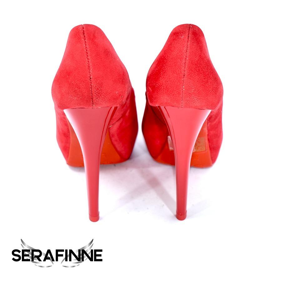 5030997d zapatos stilettos importado plataforma taco aguja negro rojo. Cargando zoom.